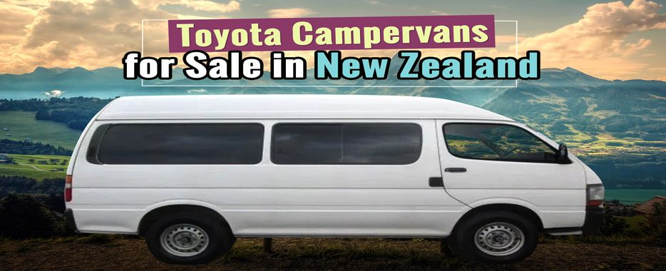 Toyota Campervans for Sale | New Zealand | TCNZ